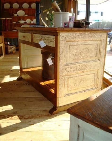 kitchen island made from doors kitchen island made from barn wood and an door 9410