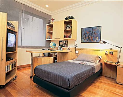 furniture brown wooden bunk bed with desk underneath designs for boys bedrooms interior design ideas