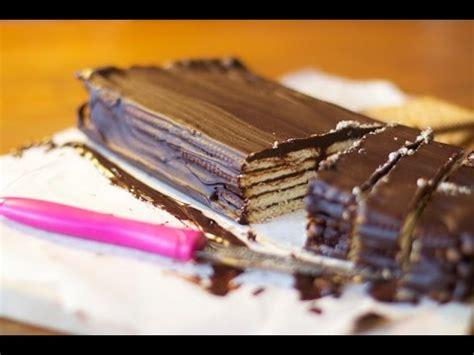 recette g 226 teau petit beurre chocolat sans cuisson