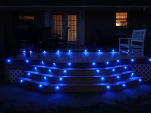 Led light design sophisticated deck lights for