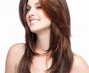 Coupe Cheveux Avec Frange : coupe de cheveux mi long avec frange femme 2017 ~ Nature-et-papiers.com Idées de Décoration