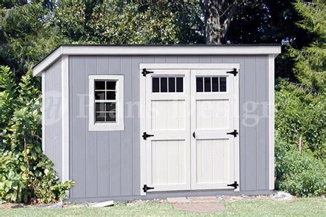 6 x 12 building blueprints shed plans deluxe modern