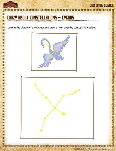 constellation of cygnus worksheet about constellations cygnus view 3rd grade sod