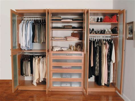 Bedroom Organizers : Wardrobe Custom Bedroom Closet Organizers