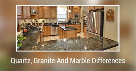 what are the differences between quartz granite and