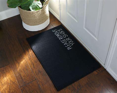 shoes doormat 2 x 3 remove your shoes welcome doormat black