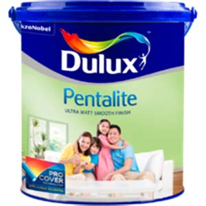 sell cat tembok dulux pentalite wall paint  standard