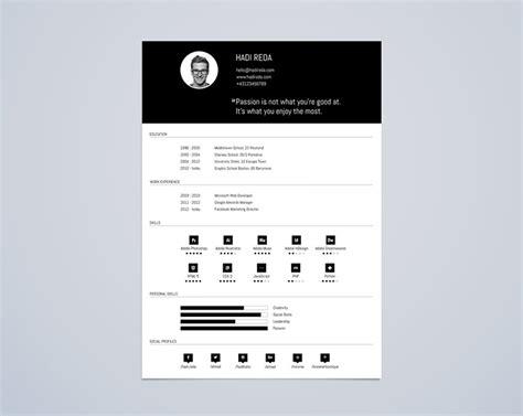 30 free beautiful resume templates to hongkiat