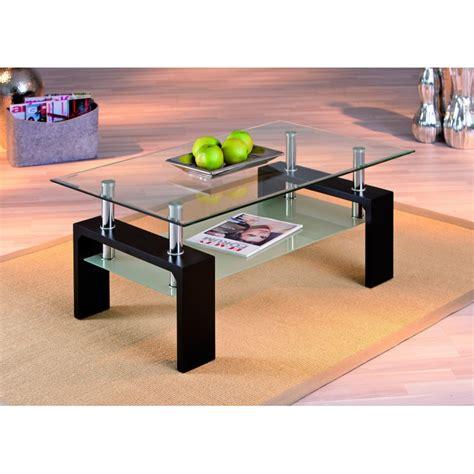 table de cuisine en verre trempé table basse design de salon