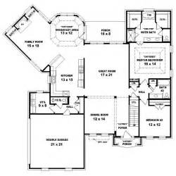 4 bedroom floor plans 2 story 654016 two story 4 bedroom 3 5 bath traditional style house plan house plans floor plans
