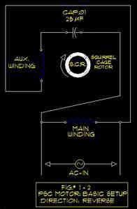 Psc Motors - Schematics