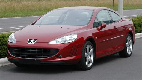 Peugeot 407 Coupe Technical Details History Photos On
