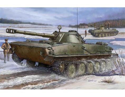 hibious tank russian pt 76 light amphibious tank trumpeter 00380