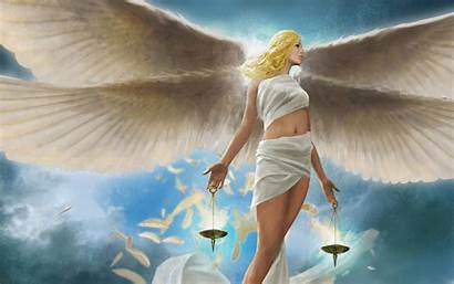 Angel Desktop Wallpapers 3d Fantasy Glamour Awesome
