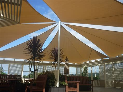 shade sails verandah curtains   outdoor canvas