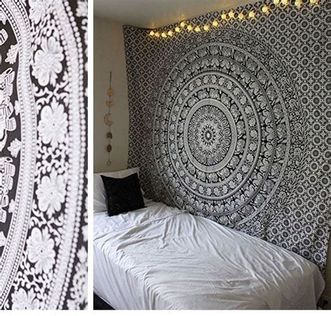Bedroom Decorating Ideas Easy by Black And White Hippie Mandala Tapestry Easy