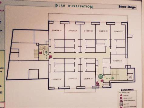 plan chambre hotel plan des très petites chambres étage 3 picture of le