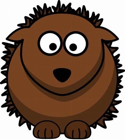 Hedgehog Clip Clipart Cartoon Vector Clker Cliparts