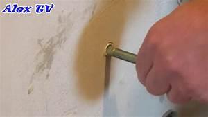 Dübel Aus Der Wand Entfernen : bolzenanker stockschraube aus der wand entfernen youtube ~ A.2002-acura-tl-radio.info Haus und Dekorationen