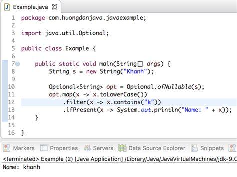 map method  optional object  java huong  java