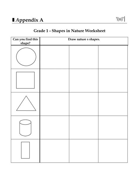 3d shapes worksheets maths 2d ma koogra for grade 1 and