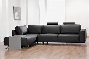 salon mailleux 15 photos With canape angle cuir noir