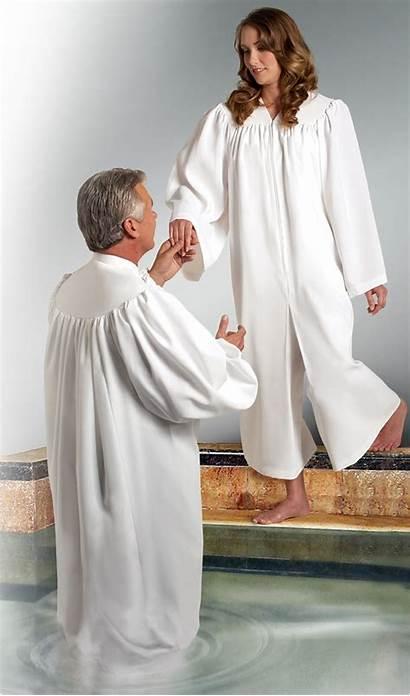 Robe Baptismal Baptism Robes Churchsupplies Murphy Larger