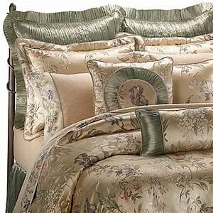 croscillr comforter set in iris bed bath beyond With croscill iris queen comforter set