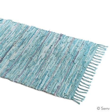 Turquoise Rag Rug by Home Decor Turquoise Suede Rag Rug Medium