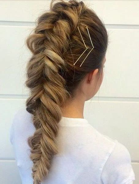 Fishtail Braided Long Hairstyles for Teenage Girls Love