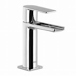 Robinet Lavabo Cascade : mitigeur lavabo loft tres robinet cascade bec ouvert ~ Edinachiropracticcenter.com Idées de Décoration