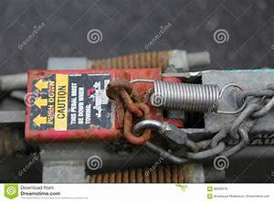 Wiring Harness Coupling Tow Stock Image