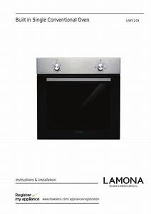 Lamona Single Conventional Oven