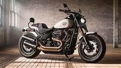 Harley Davidson Fat Bob Softail Wallpapers 1366