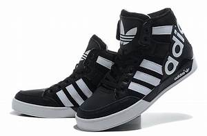 Adidas Shoes High Tops White And Black softwaretutor.co.uk