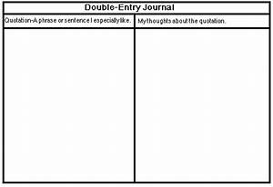 engl 4040 assignments and policies spring 2001 With double entry journal template for word