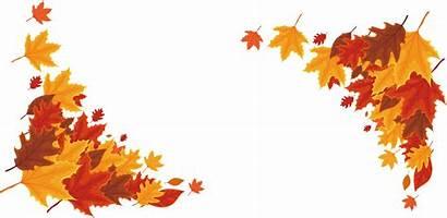 Border Transparent Autumn Background Thanksgiving Clipart Leaf
