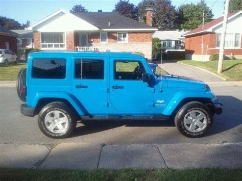 light blue jeep wrangler light blue jeep wrangler for sale