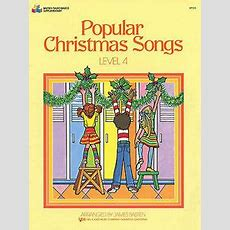 Popular Christmas Songs Level 4 Learn To Play Xmas Carols Piano Music Book Ebay