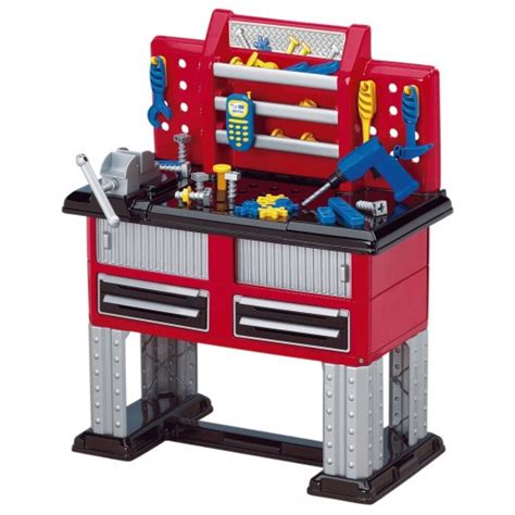 Boys Work Bench - play pretend with a workbench