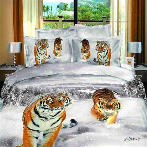 achetez en gros tigre impression couette en ligne 224 des grossistes tigre impression couette