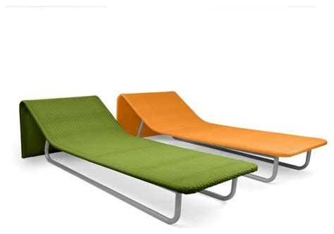 modern outdoor wicker chaise lounges contemporary
