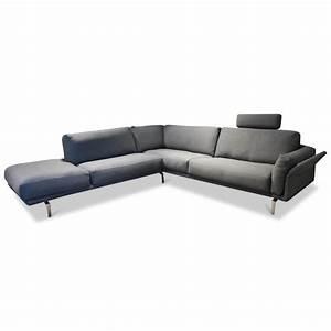Ecksofa Grau Günstig : ecksofa bellice stoff grau mit kopfst tze leolux sofas ~ A.2002-acura-tl-radio.info Haus und Dekorationen