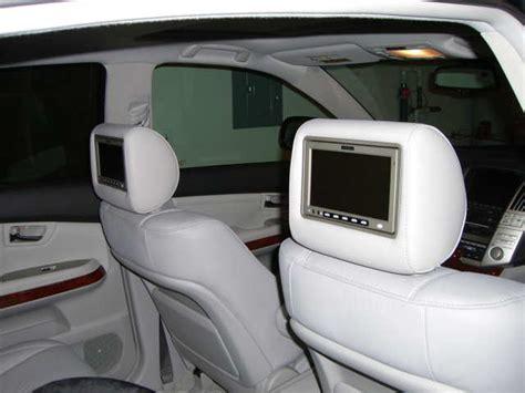 enclave headrest dvd disposable headrest covers