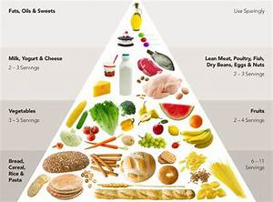 Diagram Of The Food Guide Pyramid