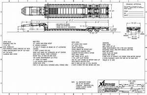 Xl Specialized 65 Ton Lowboy With Jeep  U0026 Booster
