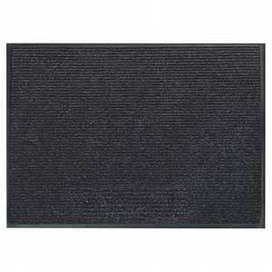 tapis d39entree survivor 36quot x 48quot noir rona With porte d entrée pvc avec promo tapis salle de bain