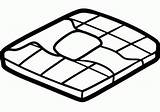 Waffle Draw Drawing Step Hellokids sketch template