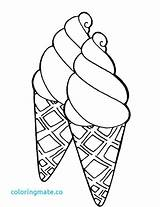 Ice Cream Coloring Cone Icecream Printable Drawing Cones Sheets Preschool Adult Candy Getdrawings Google Getcolorings Sweet Cakes Double Colorings sketch template