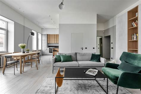 Handsome Small Apartments With Open Concept Layouts by Beautiful Open Concept Apartment By Me2 Architects